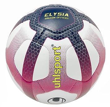 uhlsport - Elysia Ballon Officiel - Ballon Football - Design Ligue 1 -  Cousu Main - 14e603e88fa
