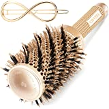 Round Brush, Hair Brush, Styling Brush, Hair Brushes, Round Brush for Blow Drying, Styling Brushes Blow Dry, Round Brushes, Ceramic Brush,Boar Bristle Brush,Blow Dryer Ionic Professional Brush,2 inch