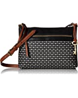 Fossil Fiona Small Crossbody Black