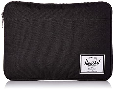 2fe85082f4a Herschel Supply Co. Unisex-Adult s Anchor Sleeve for New 13 inch MacBook,  Black