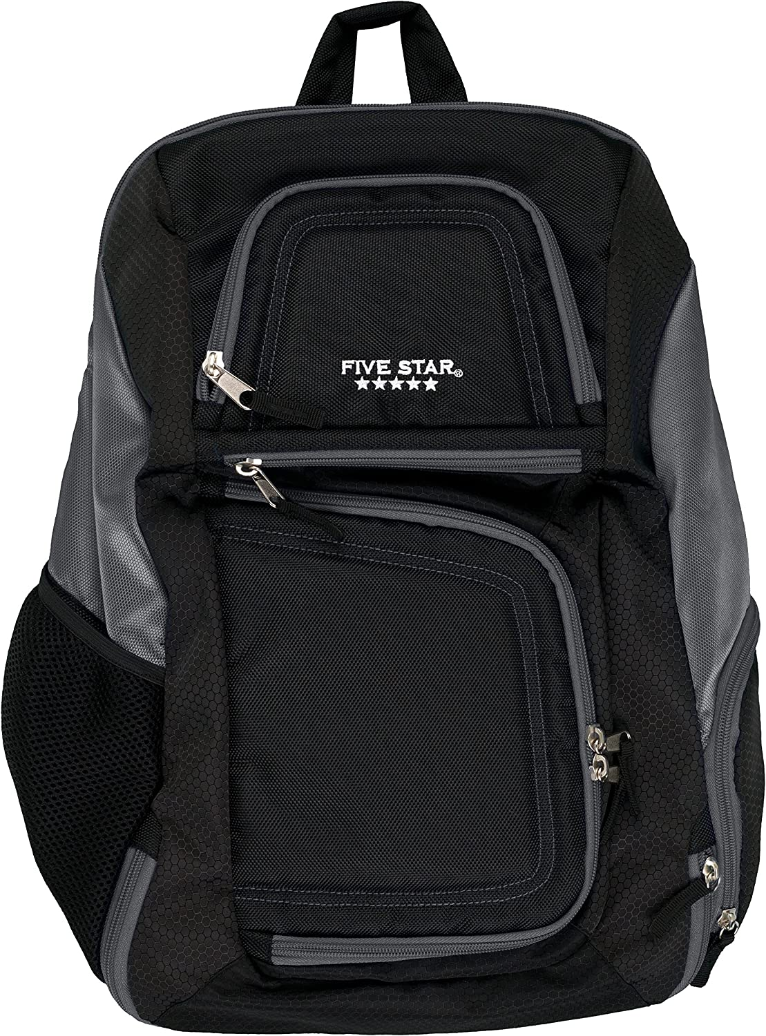 Five Star Backpack with Insulated Storage, Back Pack, Dark Gray (73290)