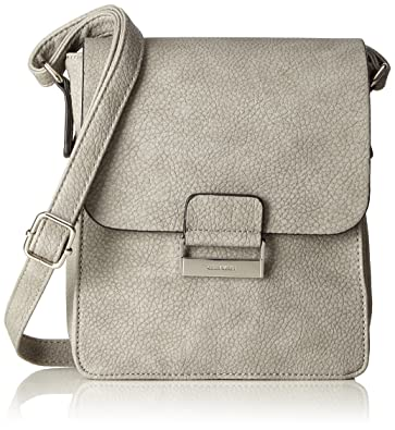 Damen Talk Different II Shoulderbag Svf Schultertaschen, Grau (801), 19x22x8 cm Gerry Weber