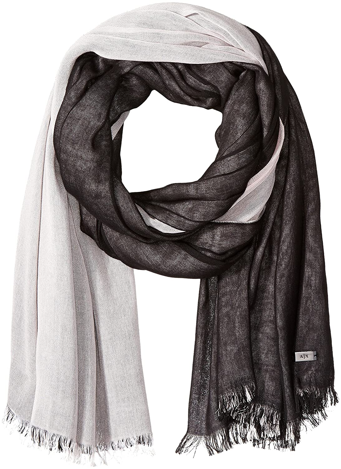A|X Armani Exchange Women's Double Sided Scarf
