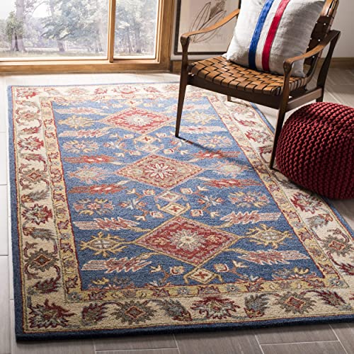 Safavieh Antiquity Collection AT506M Handmade Wool Area Rug