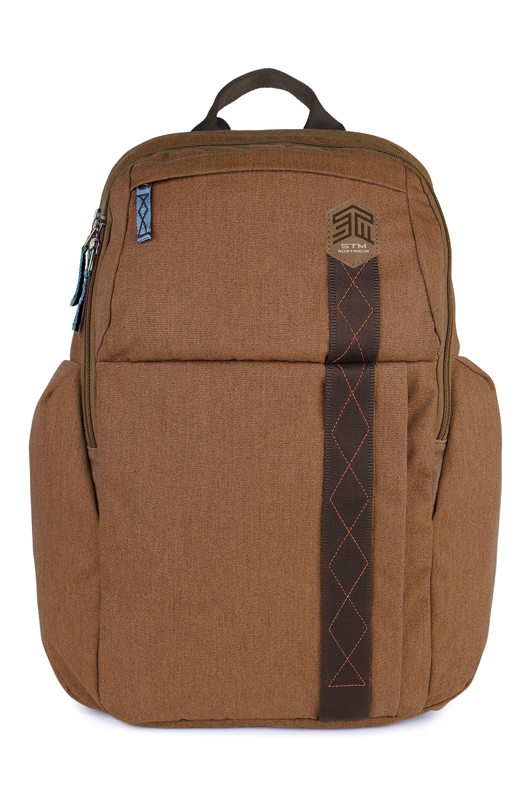 STM Kings Backpack For Laptop & Tablet Up To 15'' - Desert Brown (stm-111-149P-10) by STM (Image #2)