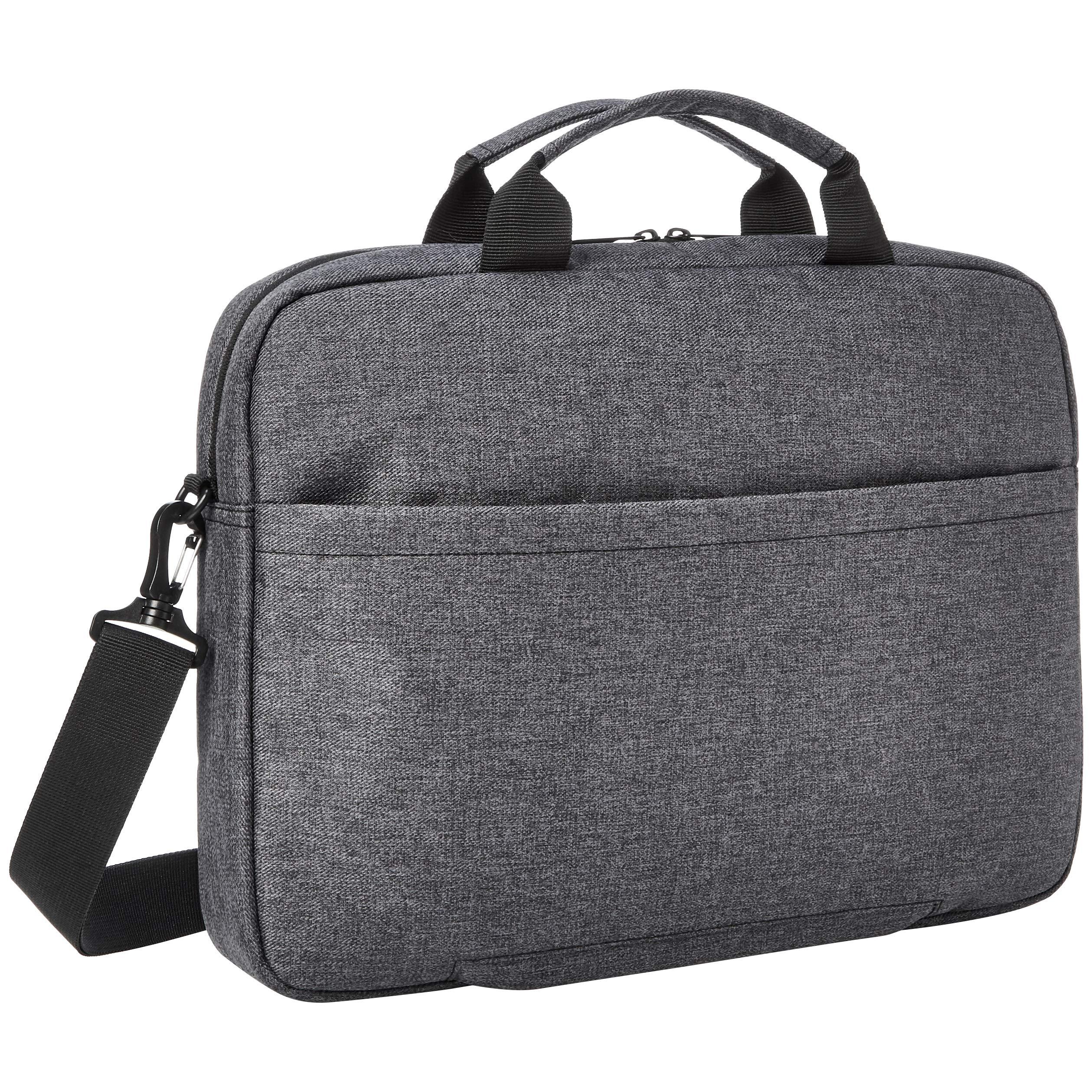 AmazonBasics Urban Laptop and Tablet Case Bag, 17 Inch, Grey by AmazonBasics (Image #3)