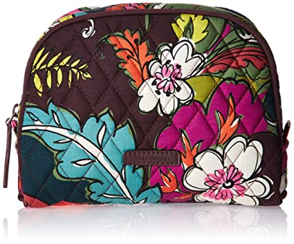 10413c3816 Amazon.com  Vera Bradley Medium Zip Cosmetic
