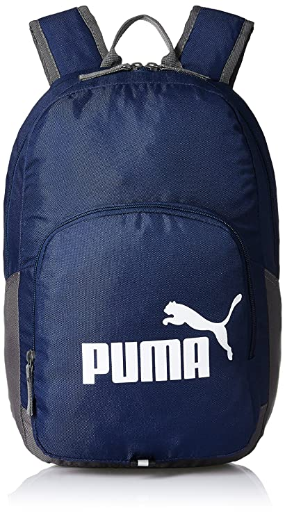 7b5738d21b9f Puma Navy Casual Backpack (7358902)  Amazon.in  Bags