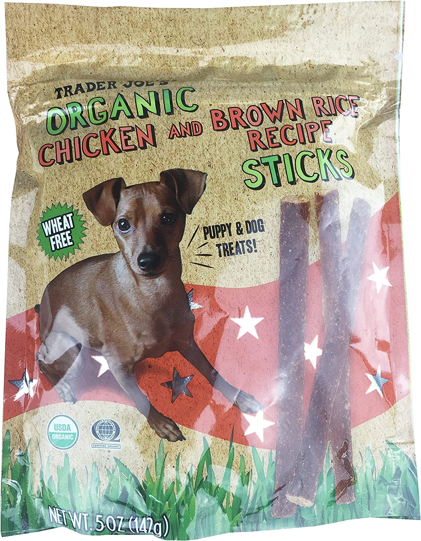Trader Joe's Organic Chicken and Brown Rice Recipe Sticks