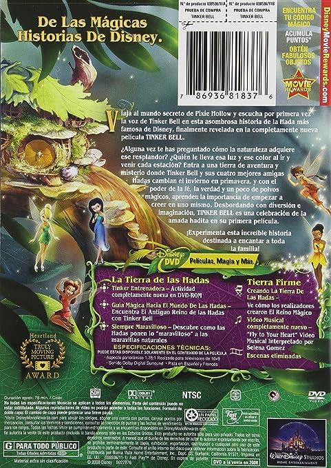 Tinker Bell [Reino Unido] [DVD]: Amazon.es: Cine y Series TV