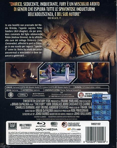 Fury (Blu-Ray+Booklet) [Italia] [Blu-ray]: Amazon.es: John ...
