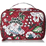 Vera Bradley Women's Signature Cotton Large Blush & Brush Makeup Organizer Case