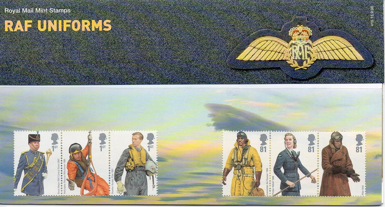 RAF Uniforms sellos, presentación paquetes, PHQ tarjetas postales de/2008, color PHQ/Postcards: Amazon.es: Oficina y papelería