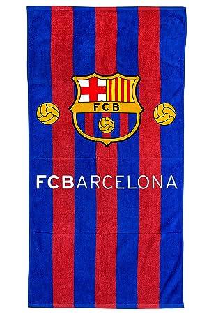 FC Barcelona FCB playa toalla, art. 7084, 70 x 140 cm, Original
