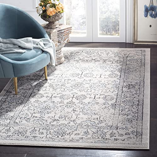 Safavieh Carmel Collection CAR273A Vintage Oriental Beige and Blue Area Rug 5'1″ x 7'6″