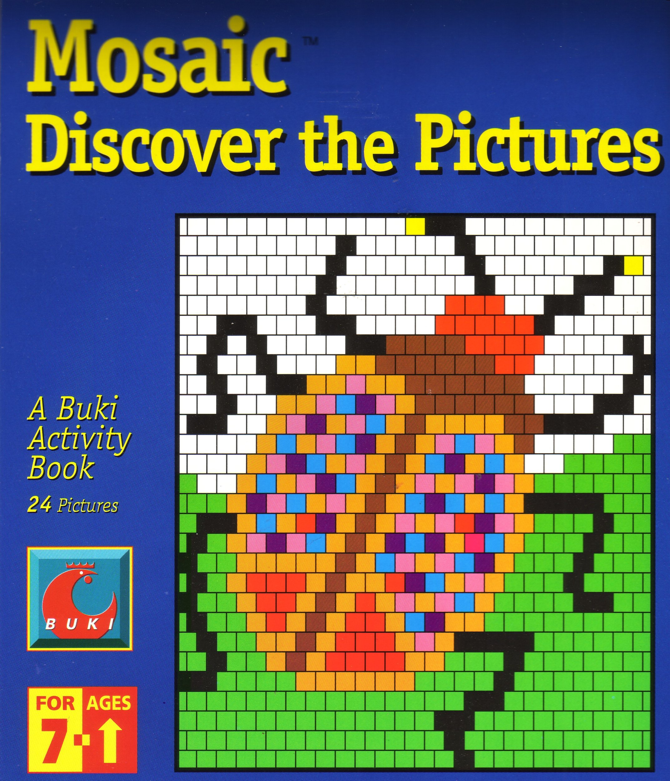 Mosaic - Discover the Pictures (A Buki Activity Book) pdf