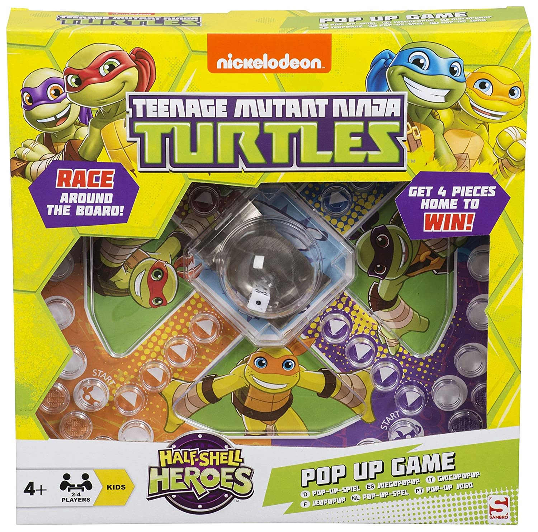 Teenage Mutant Ninja Turtles Pop Up Game Frustration Family ...