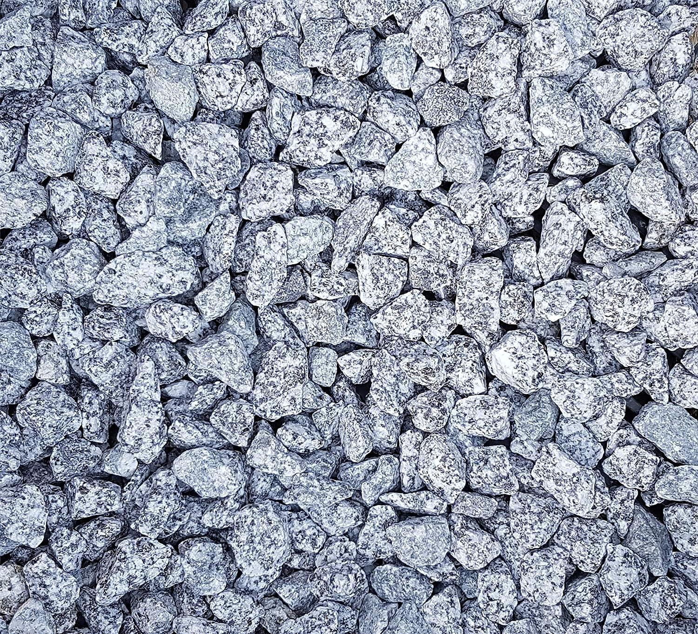 Granitsplitt 22 Kg Granit Splitt Zierkies Gartenkies Teichkies Waschkies 16-22 mm