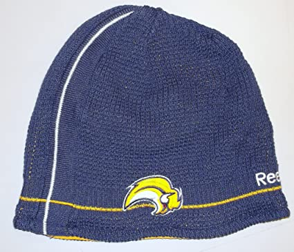 best sneakers 5415c bf0f9 Image Unavailable. Image not available for. Color  Reebok Buffalo Sabres  Center Ice Official Reversible Knit Hat - Buffalo Sabres One Fits All