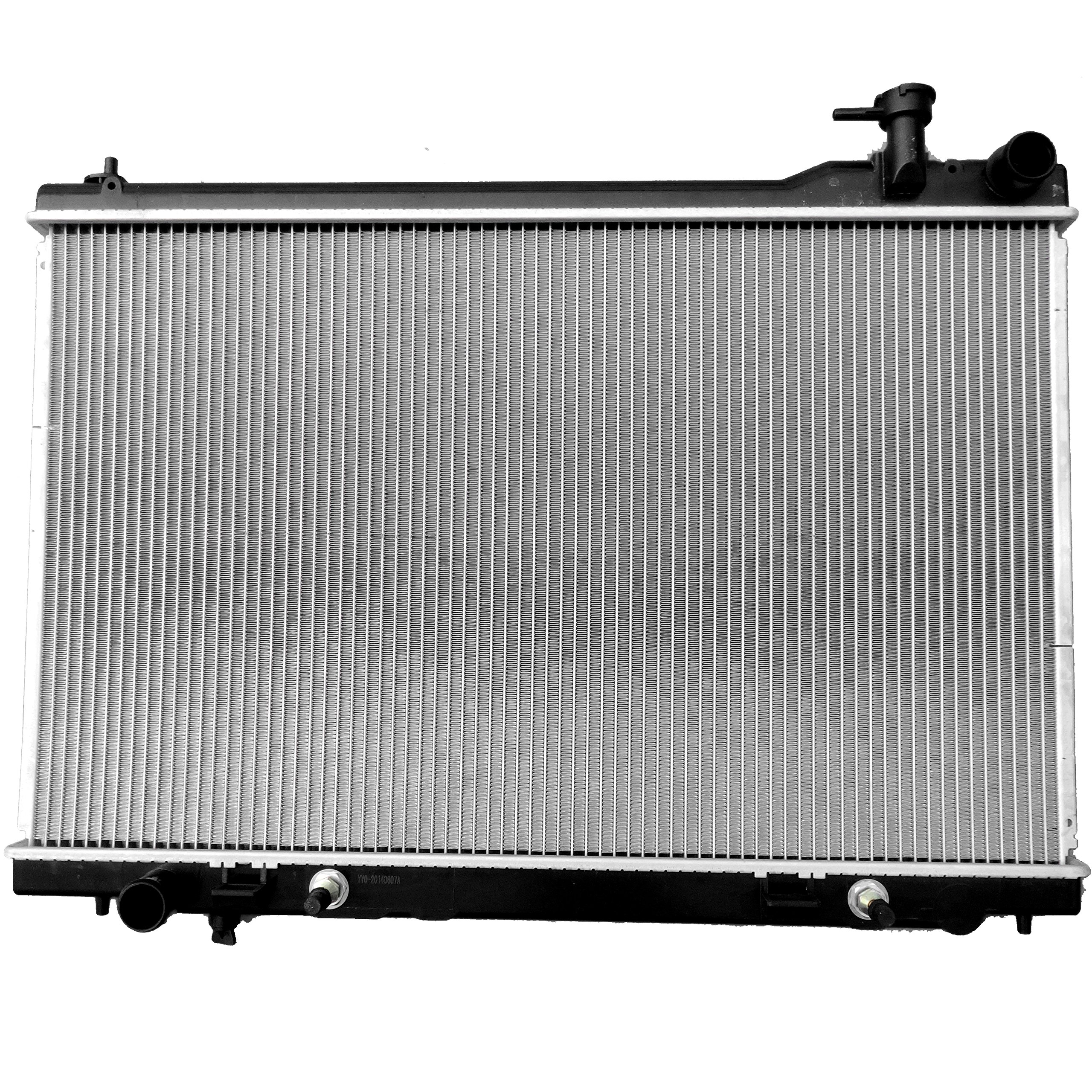 ECCPP Radiator 2683 for Infiniti FX35 Base Sport Utility 4-Door 3.5L 3498CC V6 GAS DOHC Naturally Aspirated