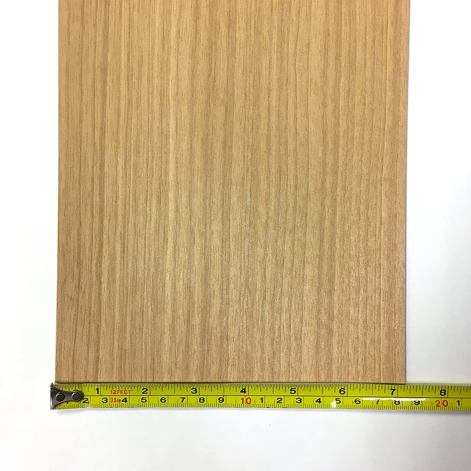No Backing Anigre Wood Veneer Pack 6W x 30L 7.5 SQ FT 6 pieces