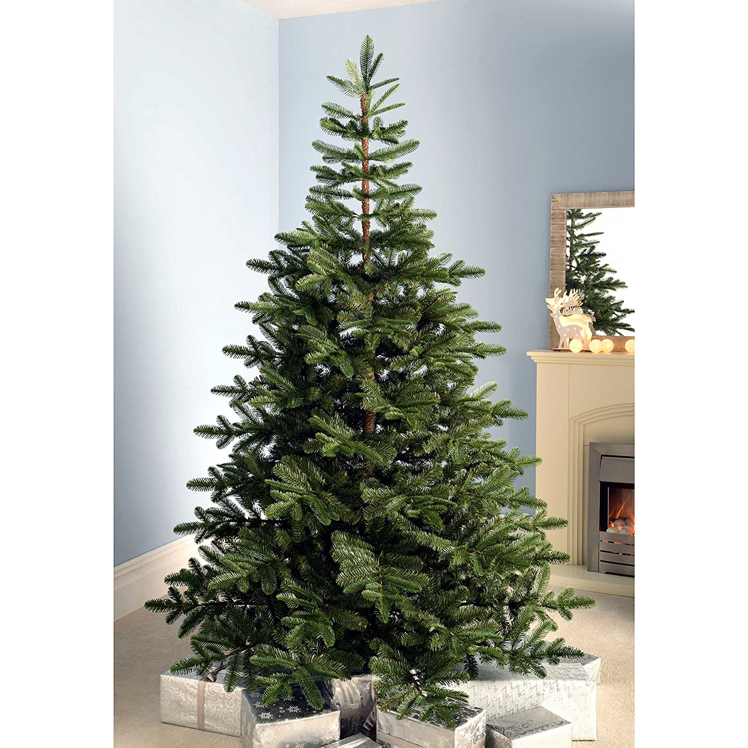 imperial pine artificial christmas tree 7ft 210cm by kaemingk olore - 7ft Artificial Christmas Tree