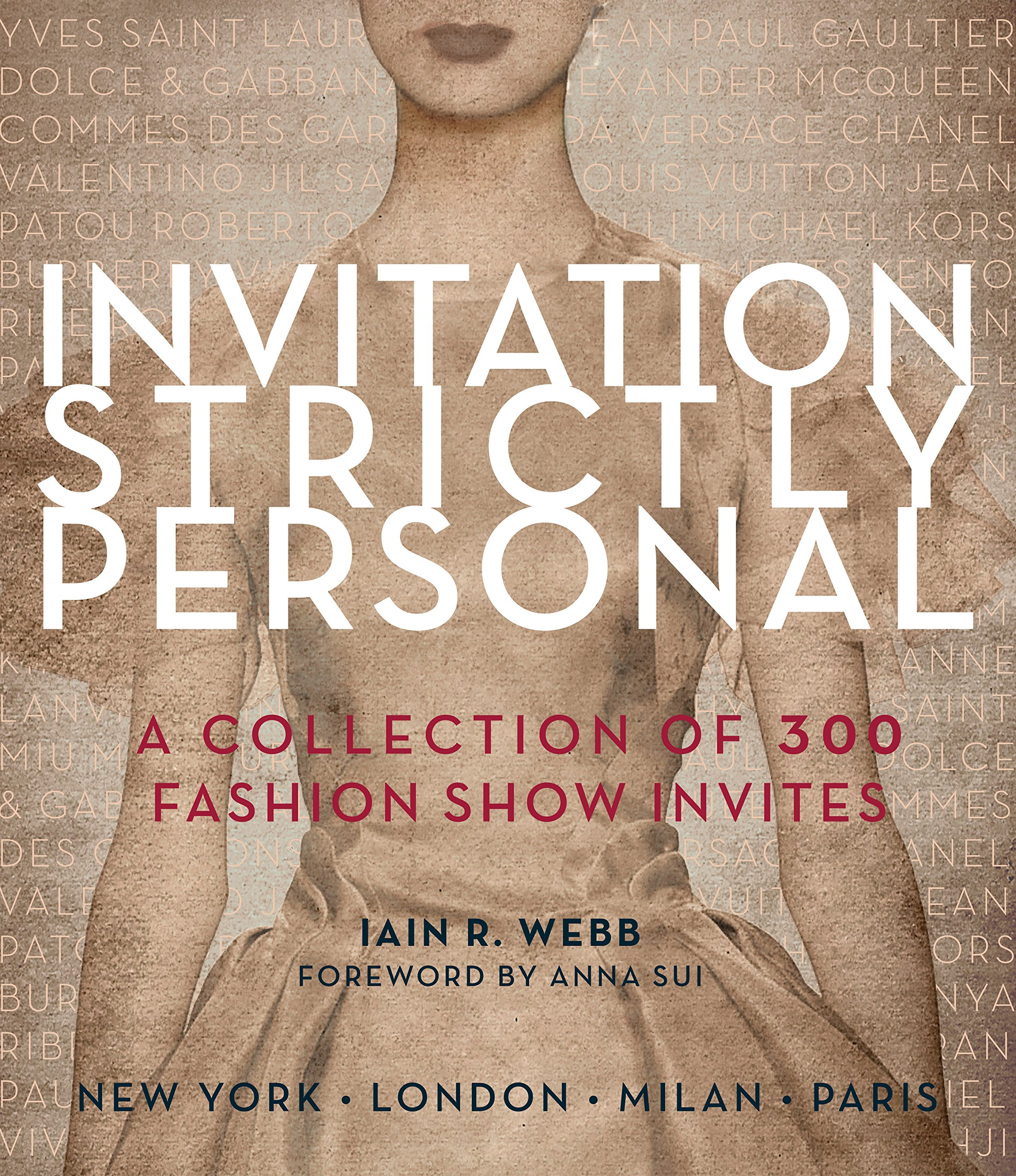 amazon invitation strictly personal 40 years of fashion show