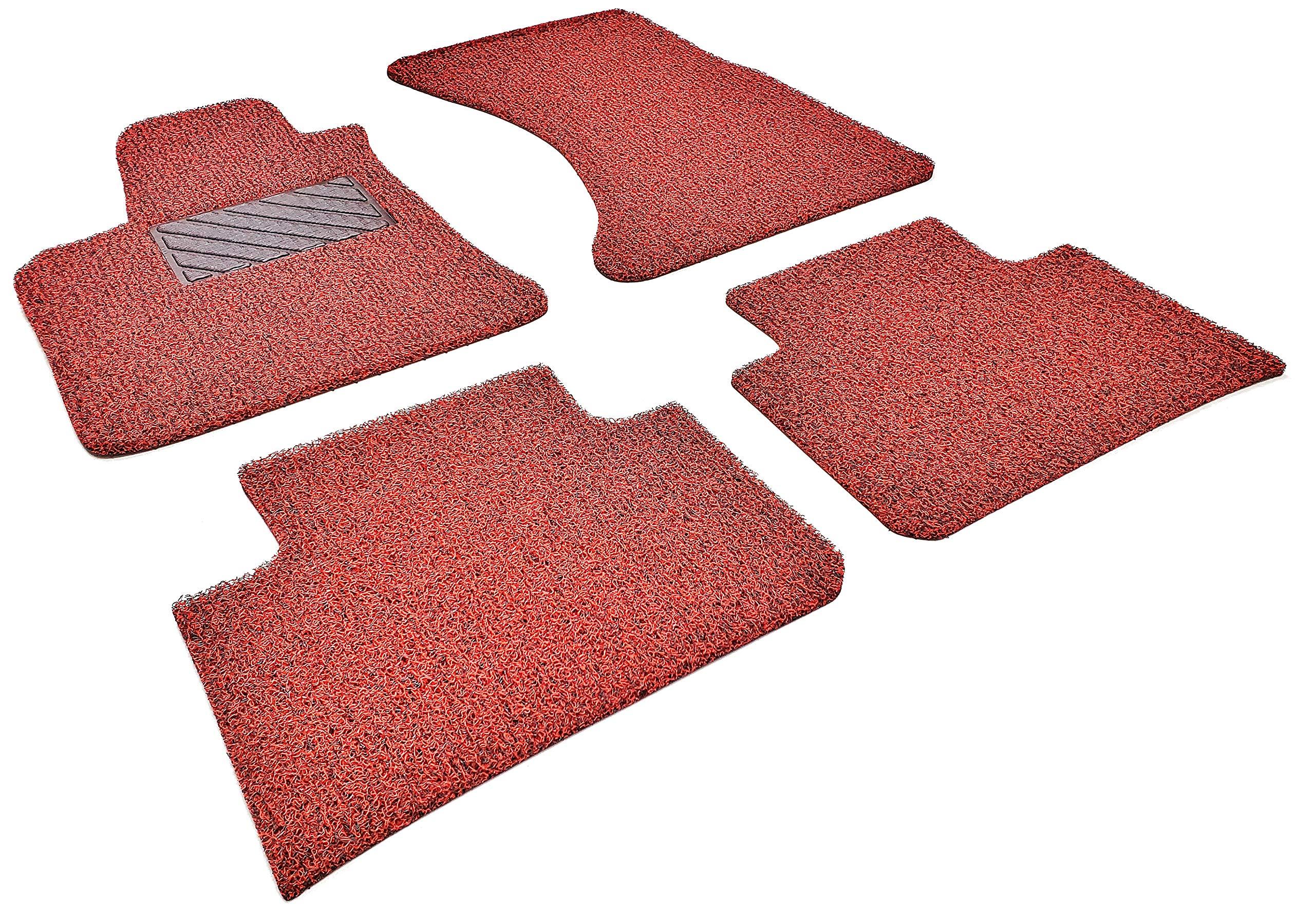 4 Pieces Floor Mat Set Autotech Park Custom Fit Car Floor Mat Compatible with 2015-2017 Chrysler 200 Sedan All Weather Heavy Duty Floor Mat Set