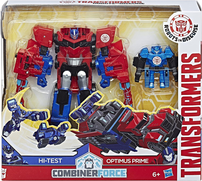 Transformers C2348EL3 Rid Force - Combinador de activador Optimus Prime y Hi-Test: Amazon.es: Juguetes y juegos