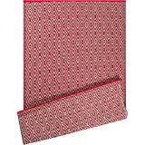 DII Contemporary Indoor/Outdoor Lightweight Reversible Fade Resistant Area Rug, Great For Patio, Deck, Backyard, Picnic, Beach, Camping, BBQ, 4 x 6', Rust Diamond