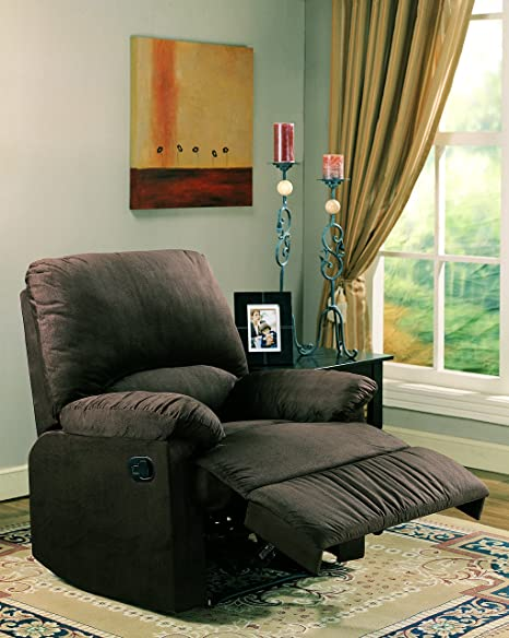 Amazon.com: Coaster recliner-chocolate: Kitchen & Dining