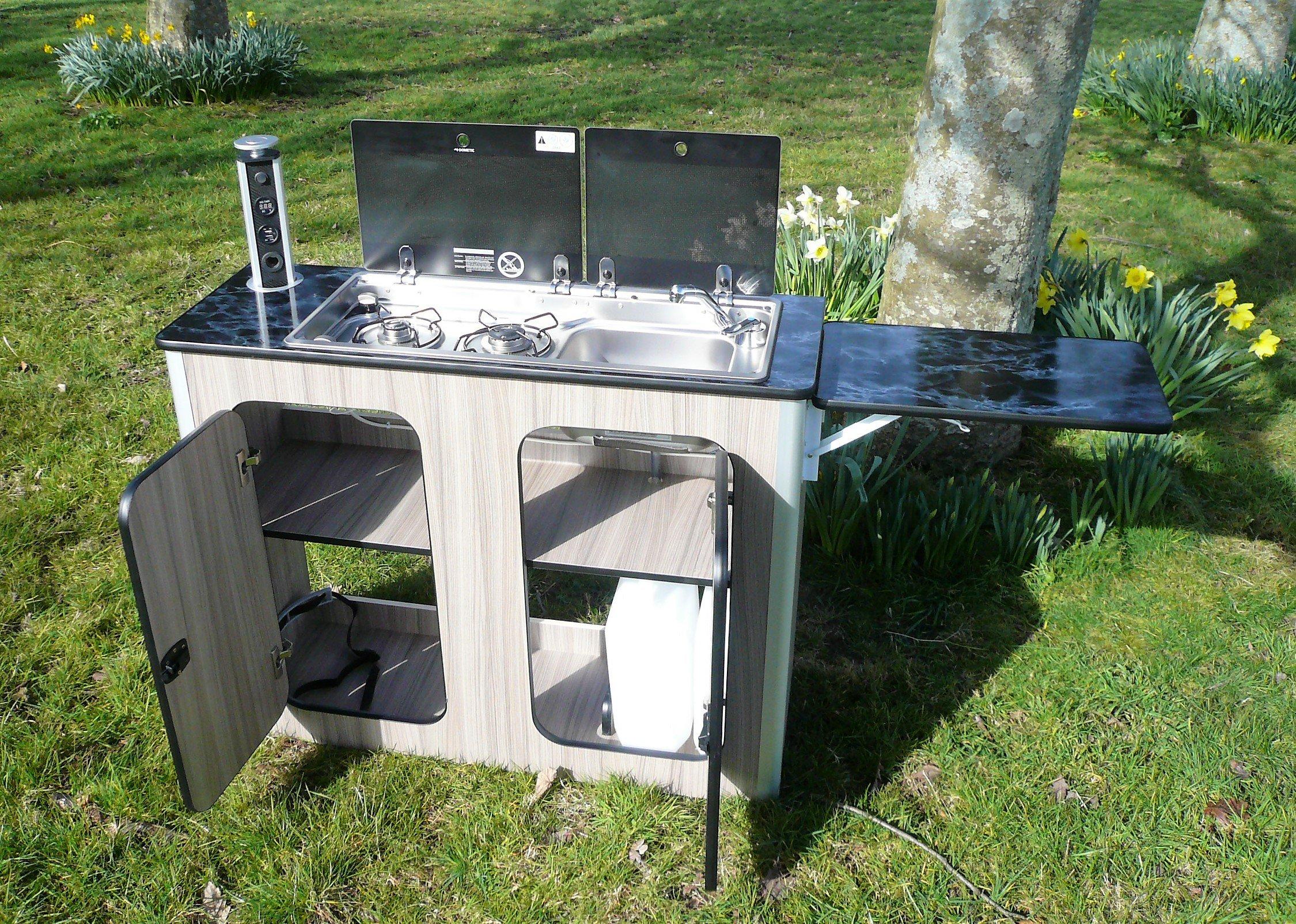Campervan Kitchen Pod Motorhome Furniture Unit Built To Order For Any Van Buy Online In Germany At Desertcart De Productid 61820405