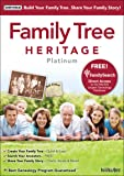Software : Family Tree Heritage Platinum 9 [Download]