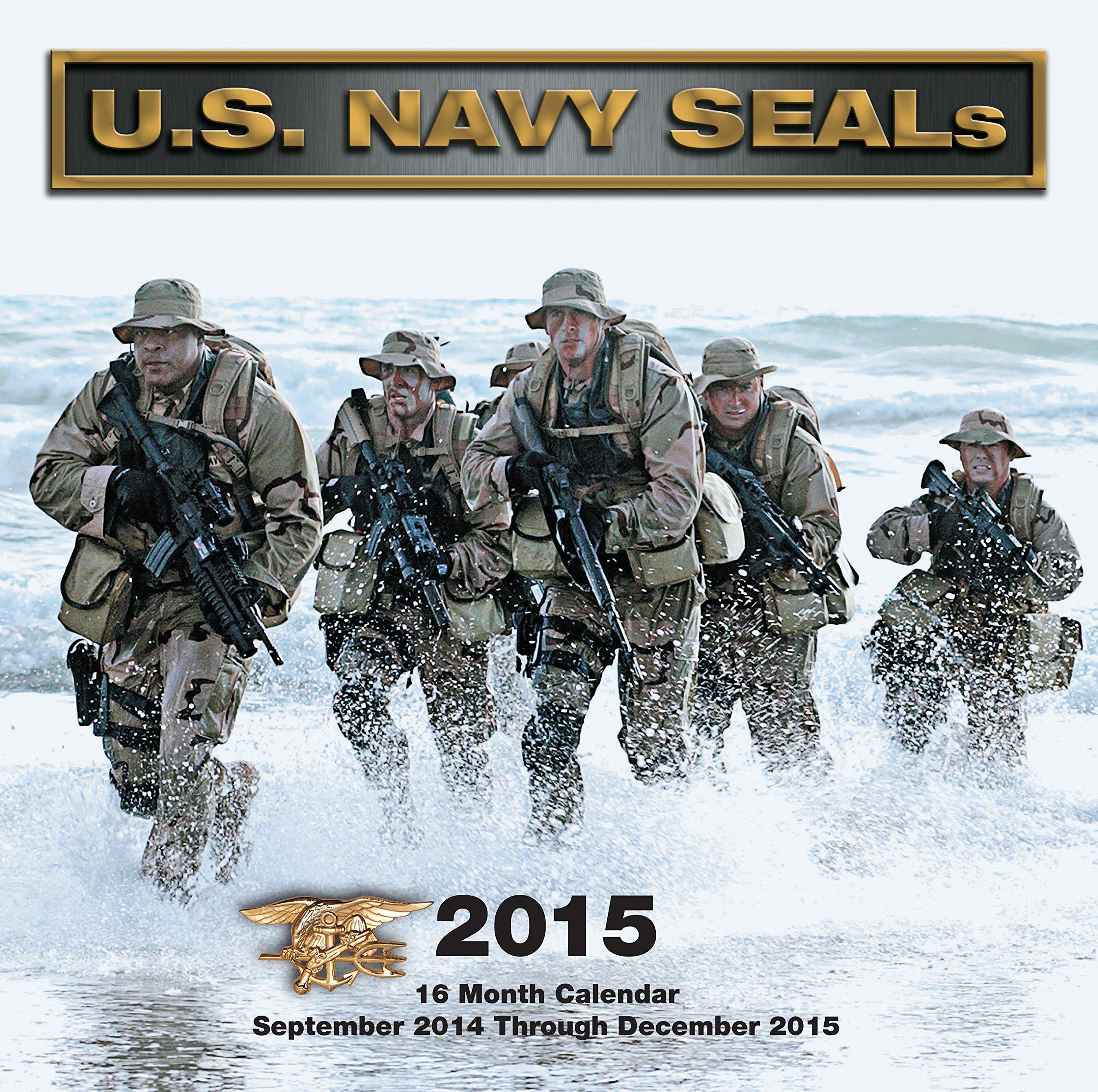 Read Online U.S. Navy SEALs 2015: 16-Month Calendar September 2014 through December 2015 pdf epub