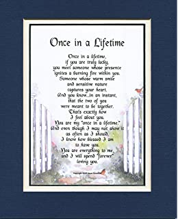 A Poem Gift Birthday Present For Husband Or Wife 78