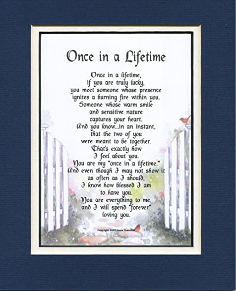 Amazon a poem gift birthday present for husband or wife 78 a poem gift birthday present for husband or wife 78 negle Images