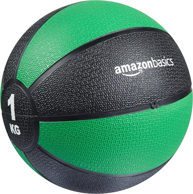 AmazonBasics - Balón medicinal, 1 kg: Amazon.es: Deportes y aire libre
