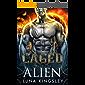 Caged with the Alien (An Alien Breeder Romance) (Roh'ilian Warrior Series Book 1)