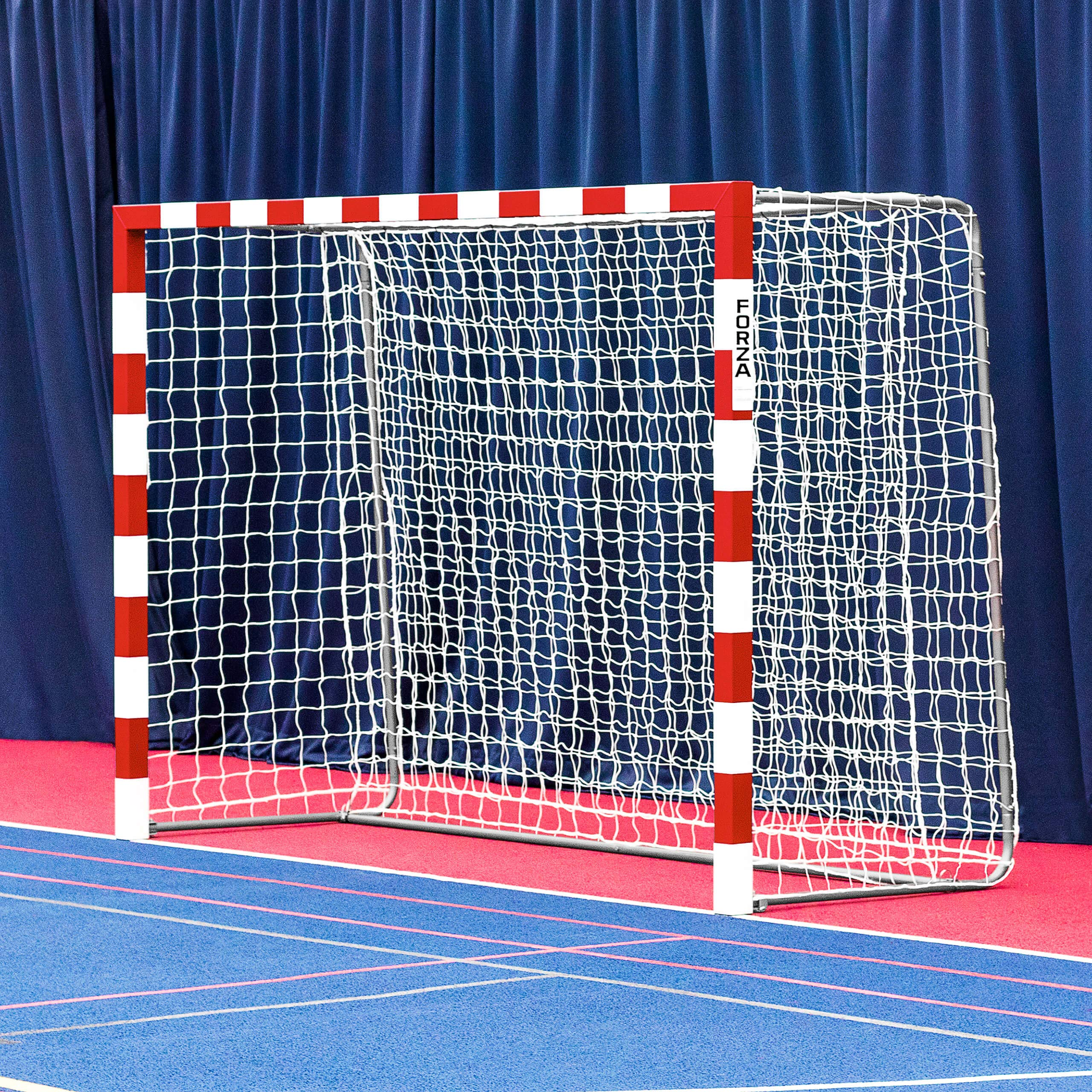 Forza Alu80 Competition Handball Goals | IHF Regulation Size 3m x 2m Handball Goal [Net World Sports] (Pair, Red) by Forza (Image #9)