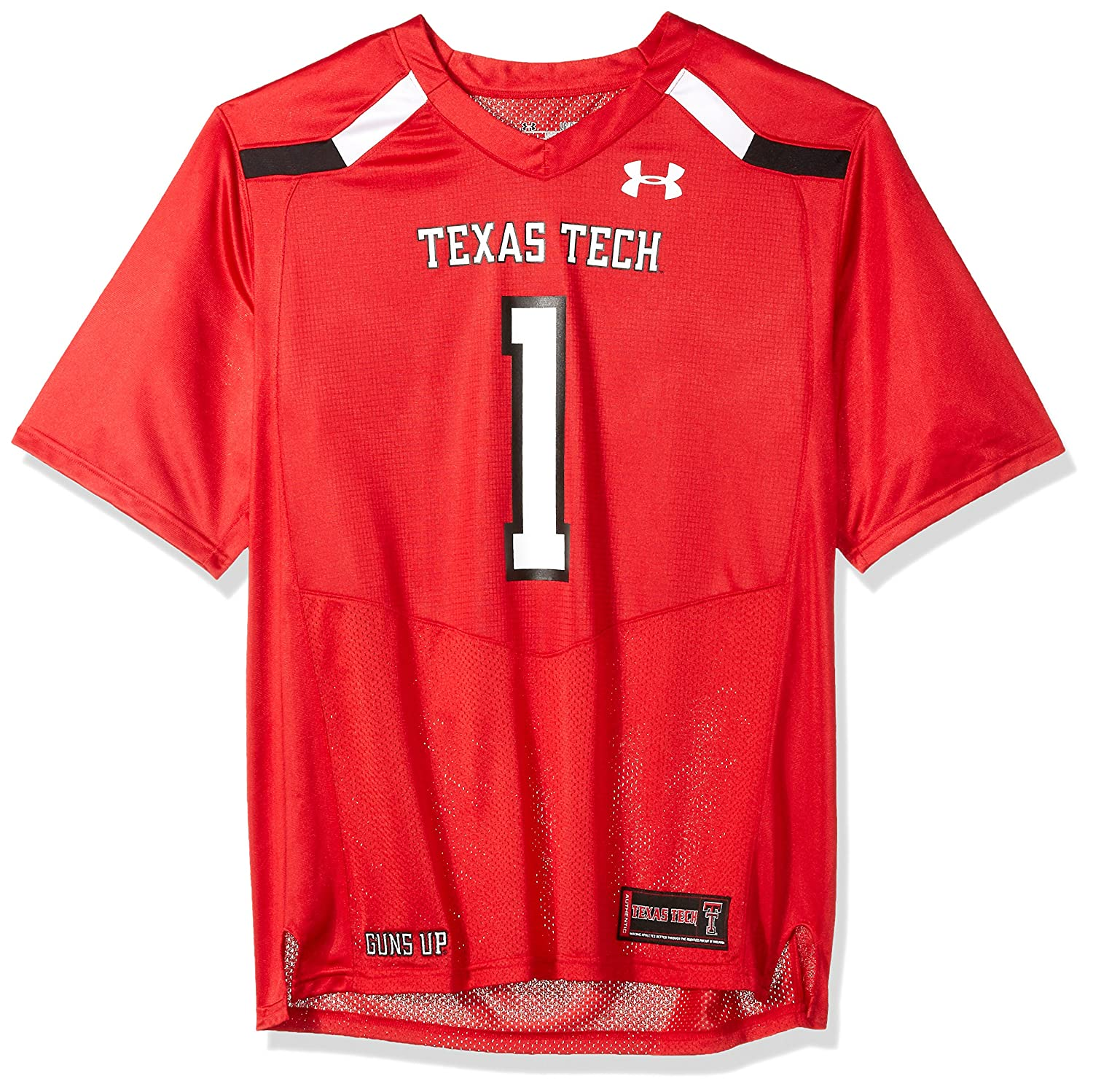 336912149 Amazon.com : Under Armour NCAA Texas Tech Red Raiders FG205070A13 Childrens  Official Sideline Jersey, Large, Red : Sports & Outdoors