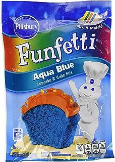 Amazon Com Pillsbury Funfetti Aqua Blue Cupcake And Cake