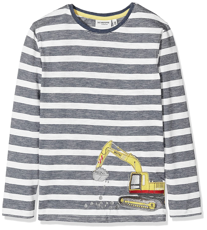 Salt /& Pepper Boys Longsleeve Heavy Stripe T-Shirt