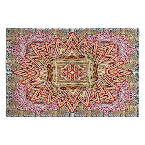 Deny Designs Ingrid Padilla Boho Vintage Woven Rug, 4 by 6-Feet