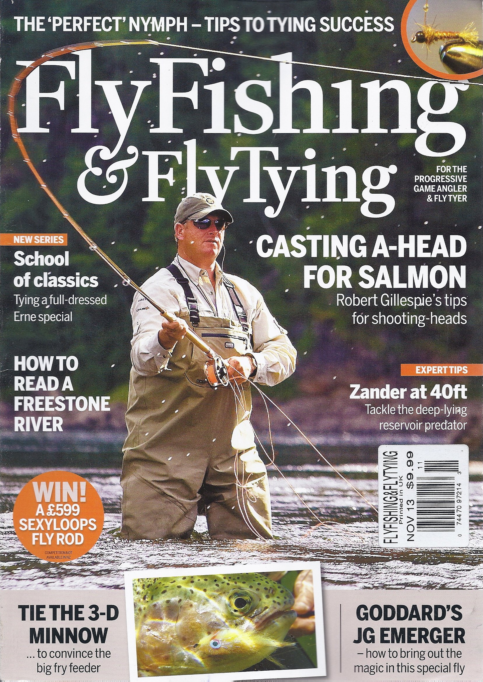 Read Online Fly Fishing & Fly Tying (November 2013) PDF