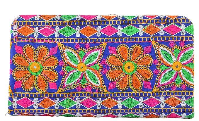 a82ba0ae529 Jaipuri Women s Clutch (Multi-Coloured