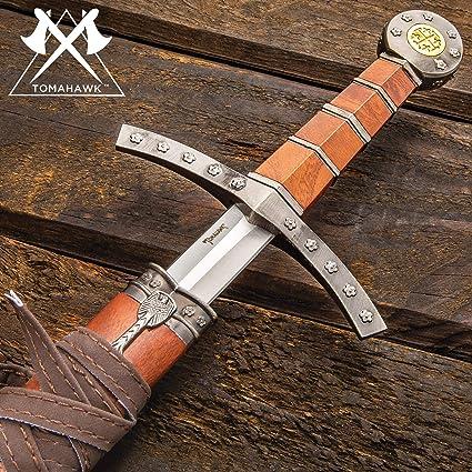Amazon.com: Edad Media, espada ancha y vaina: Sports & Outdoors