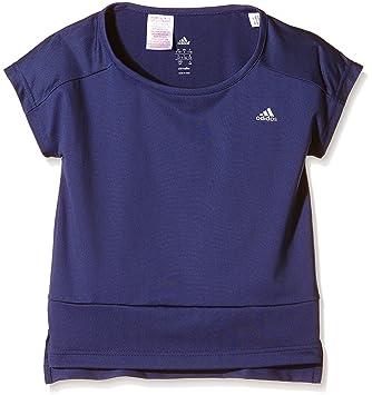 Adidas niña Wardrobe Fitness - Camiseta: Amazon.es: Deportes y aire libre