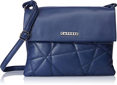 67a4d282c Image Unavailable. Image not available for. Colour  Caprese Women s Sling  Bag (Blue)