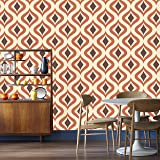Graham & Brown 15195 Trippy Wallpaper, Orange