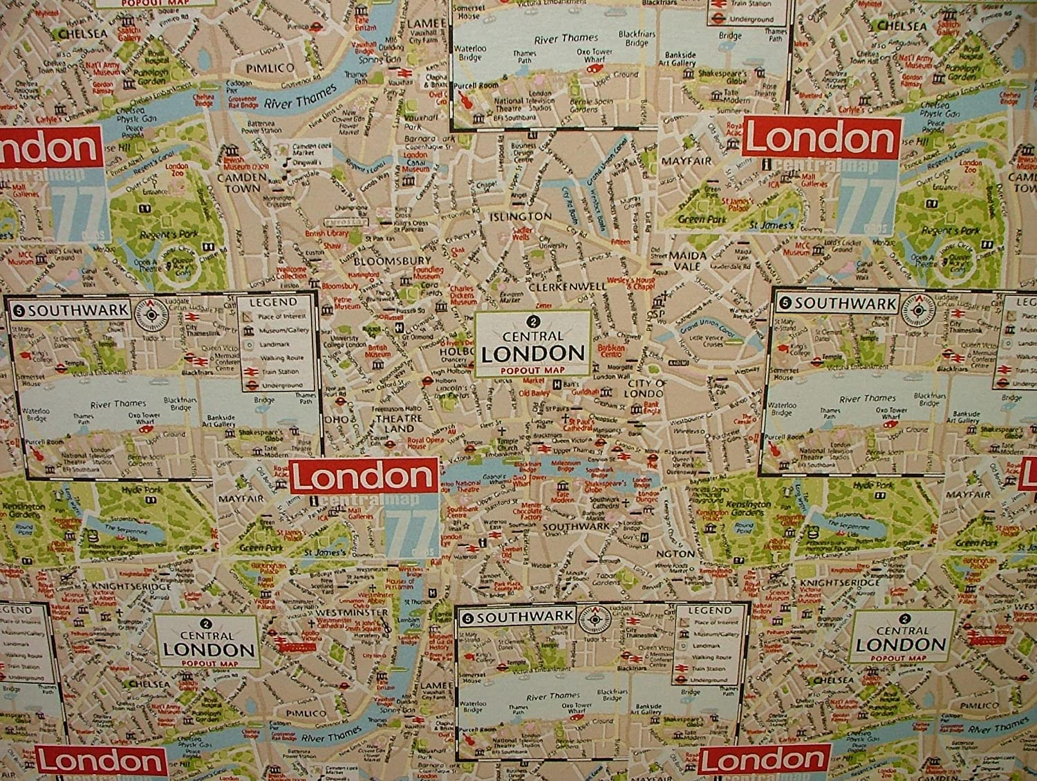 London map designer cotton curtain upholstery crafts quilting london map designer cotton curtain upholstery crafts quilting multi use fabric amazon kitchen home gumiabroncs Gallery